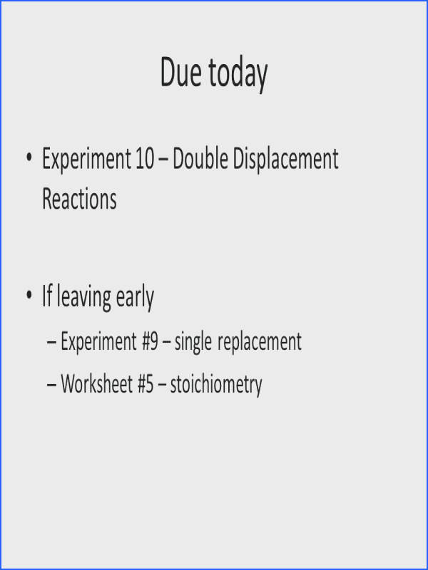 double replacement reactions worksheet plus due today experiment double displacement reactions cool double replacement reactions worksheet