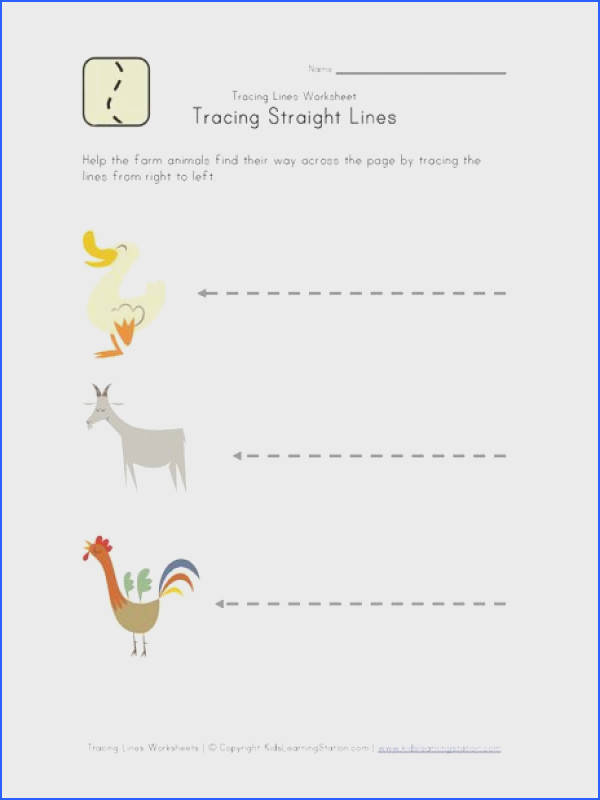draw lines worksheet Tracing