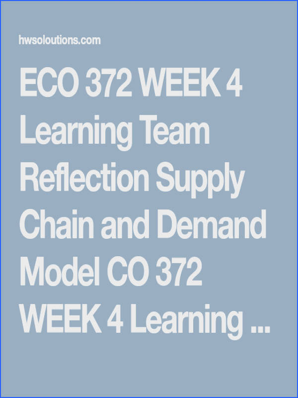 ECO 372 WEEK 3 Aggregate Demand and Supply Models ECO 372 WEEK 3 Aggregate Demand and Supply Models ECO 372 WEEK 3 Aggregate Demand and Supply Mode…
