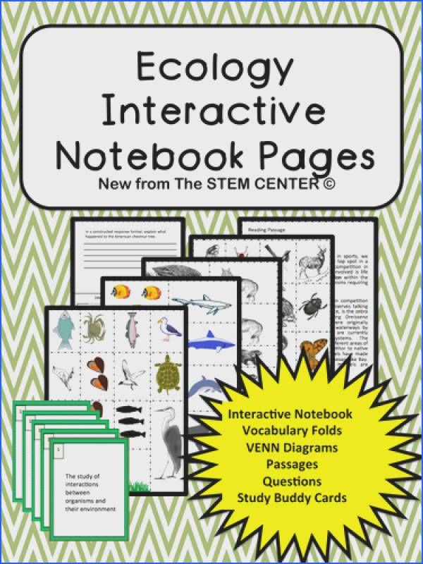 Ecology Interactive Science Notebook