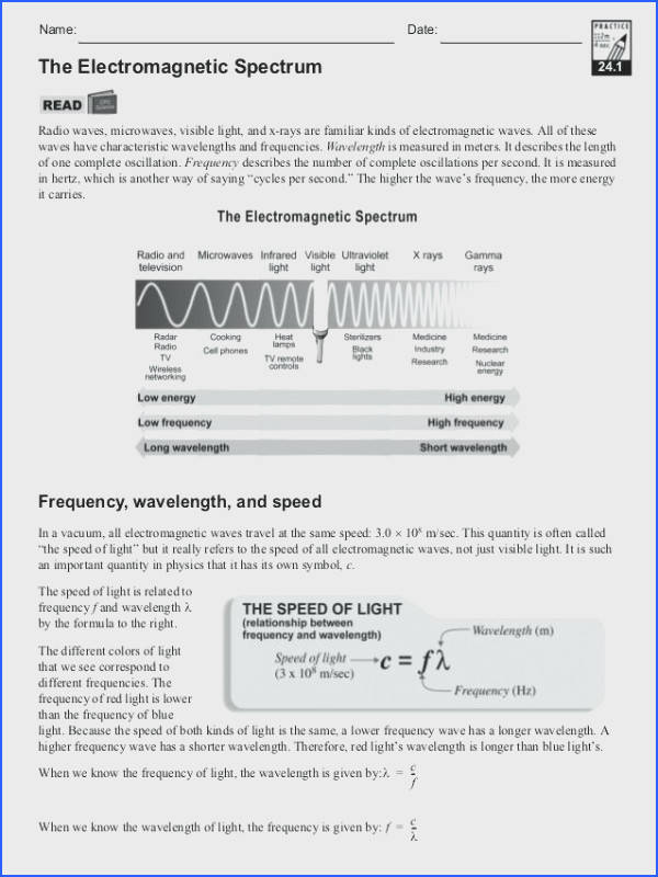 waves electromagnetic spectrum worksheet answers for electromagnetic spectrum worksheet electromagnetic spectrum perfect waves electromagnetic spectrum