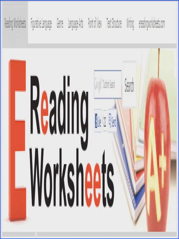 Ereading Worksheets Point View