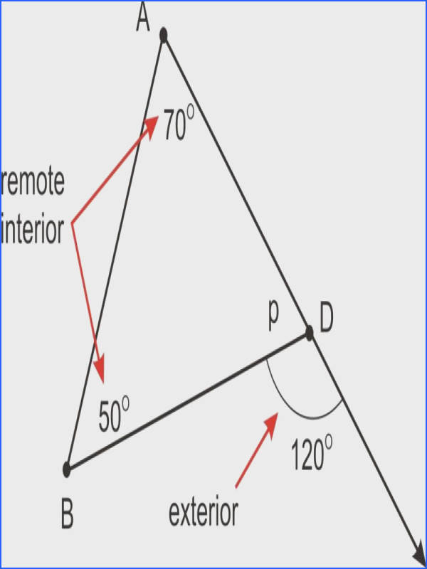 Worksheet Triangle Sum And Exterior Angle Theorem Work Exterior Angles A