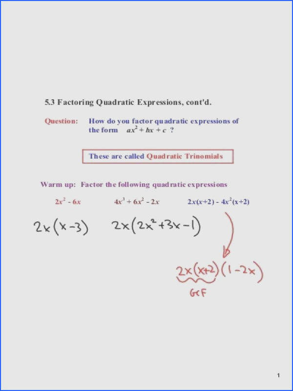 Multiplying Factors Quadratic Expressions With X Coefficients Grade 10 Math Factoring Worksheets Quadratics Multiplying Factors