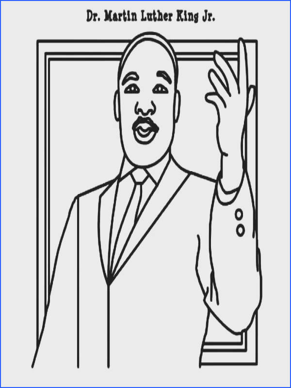 Ingenious Idea Free Printable Martin Luther King Coloring Pages Murderthestout