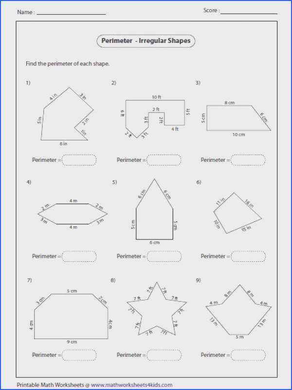 Find the perimeter and apothem of each polygon Geometry Worksheets Pinterest