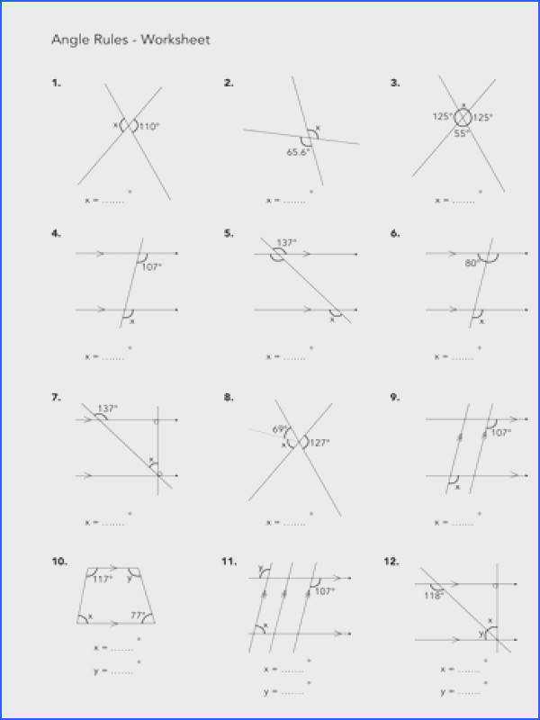 Useful Finding Missing Angles In Quadrilaterals Worksheet Tes Also Jwmcrobert S Shop Teaching Resources Tes