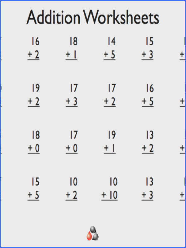 1st grade math worksheets free printable library subtraction for additio a part of under Math Worksheet