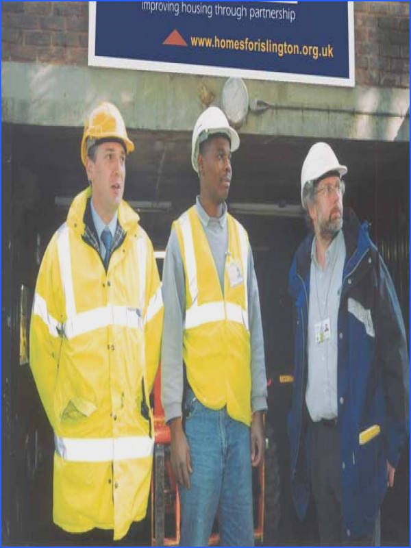 and act as the client officer on behalf of HFI The site manager is employed by the constructor Responsibilities Responsibilities include include