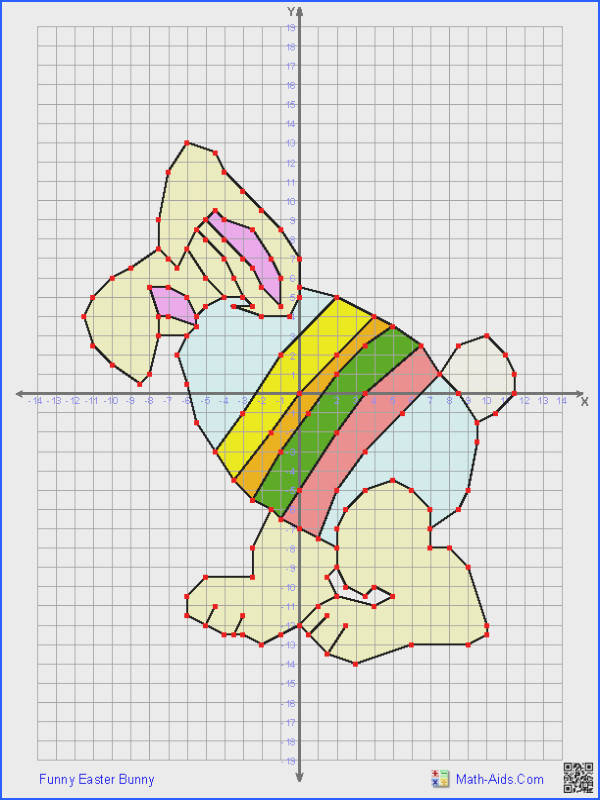 This Graphing Worksheet will produce a four quadrant coordinate grid and a set of ordered pairs that when correctly plotted and connected will produce