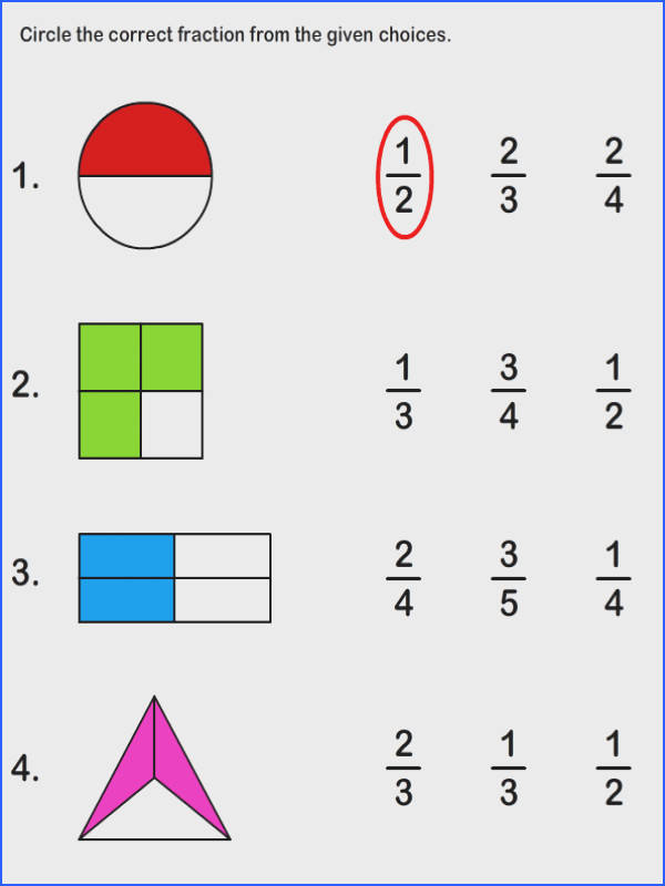 Fraction Worksheets and Printables