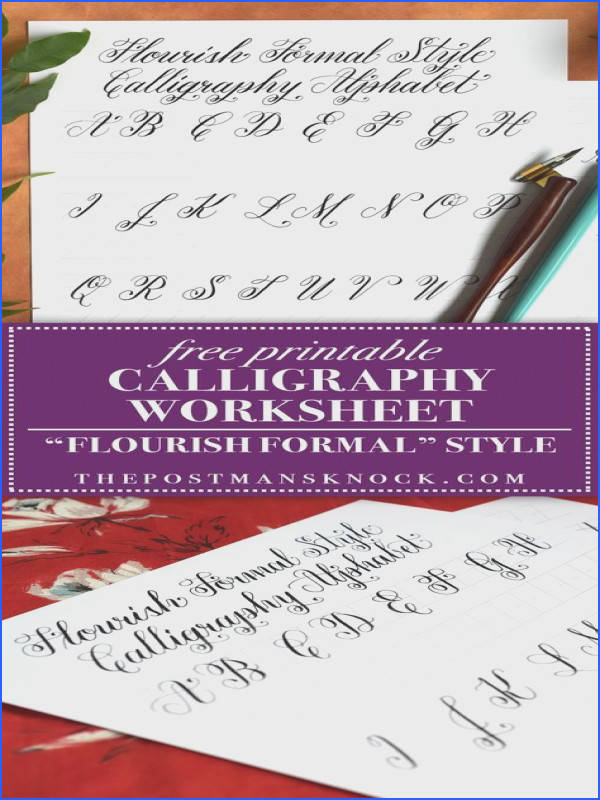 Print on 32 smooth laserjet paper for best results You don t · Learn CalligraphyCalligraphy AlphabetModern