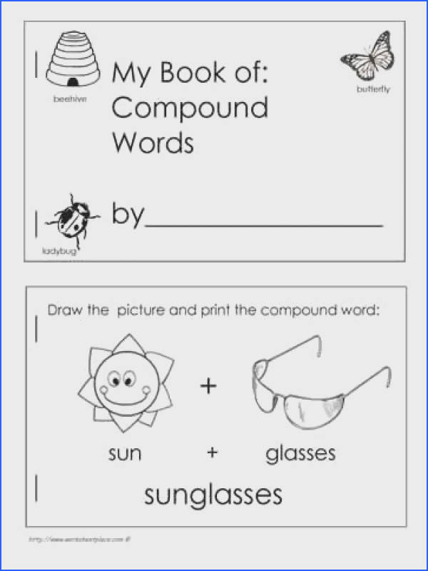FREE Book of pound Words Kids fill out ALL the words