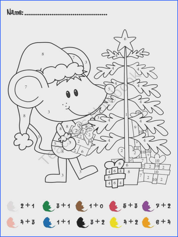 FREE Christmas Addition Math Activity product from TheConstantKindergartener on TeachersNotebook