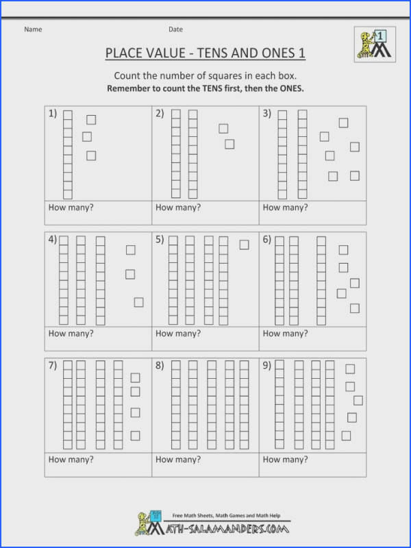 Beautiful Activities Place Value Worksheet Students Write The