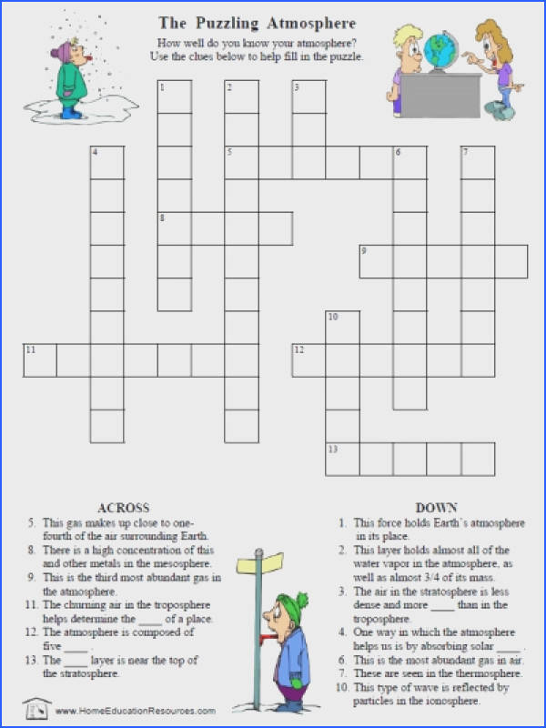 Free Page Puzzles Projects Worksheets The Earth S Atmosphere Science Worksheet 8th Free Best Free Printable Worksheets