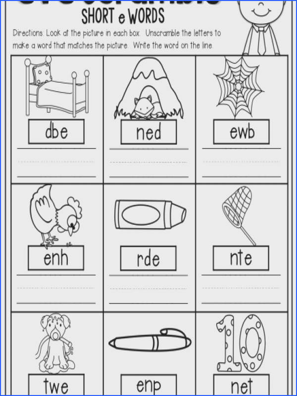kindergarten fc5ac f5b042ebf a part cvc scramble unscramble the words to make a word that matches long and short worksheets for