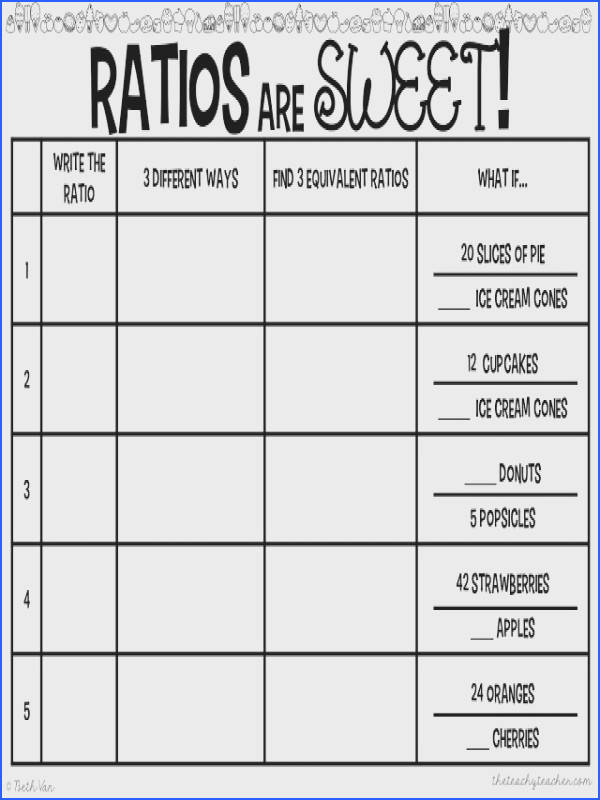 FREE Ratio Activity GREAT center or station idea and other suggestions Perfect for