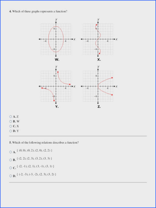 Function or Not A Function Worksheet with Answers Unique Relations and Functions Worksheet Function