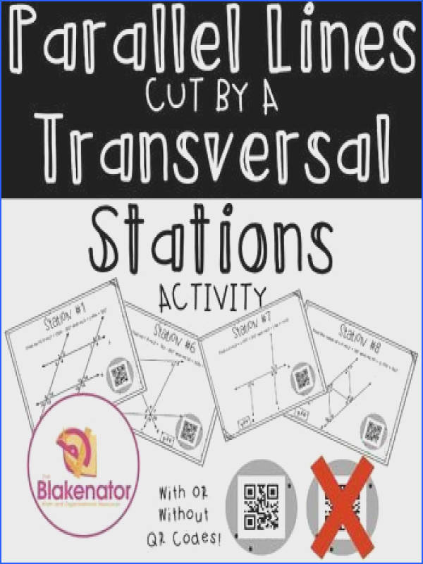 Geometry Parallel Lines and Transversals Worksheet Answers Fresh 160 Best Lines and Angles Pinterest