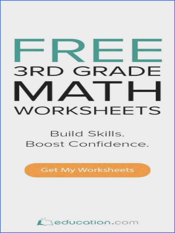 Free 3rd Math Worksheets from the 1 Educational Site