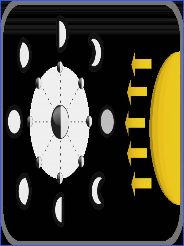 Investigate Phases of the Moon Science Activity for Middle School Students