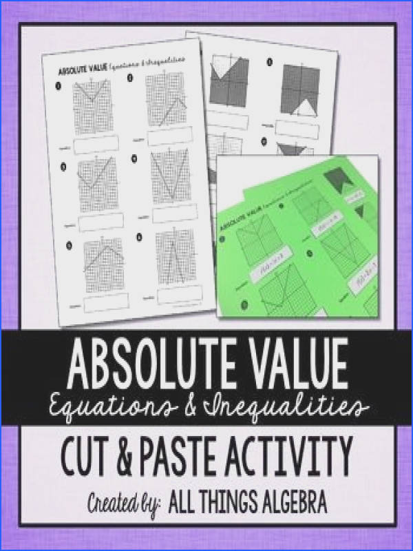 Graphing Absolute Value Functions Worksheet Answers Fresh the 25 Best Absolute Value Inequalities Ideas Pinterest