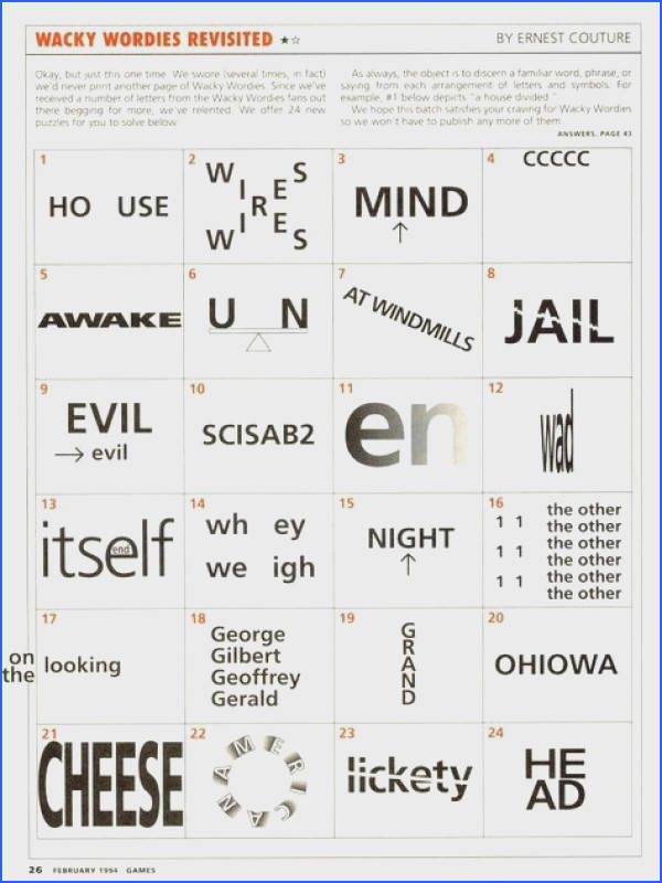 Here is a printable set of rebus puzzles The answers are included just in case you stuck and just gotta know GAMES Pinterest