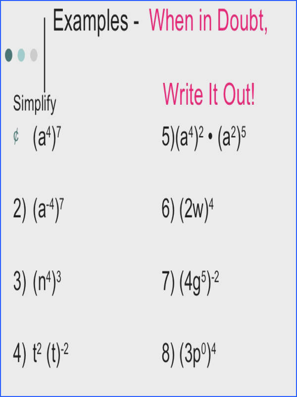 division properties of exponents homework help ProfessorTrimble Fast Essays Division properties exponents homework help Best