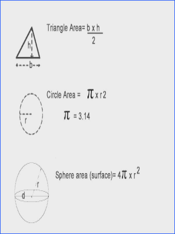 Calculate Areas