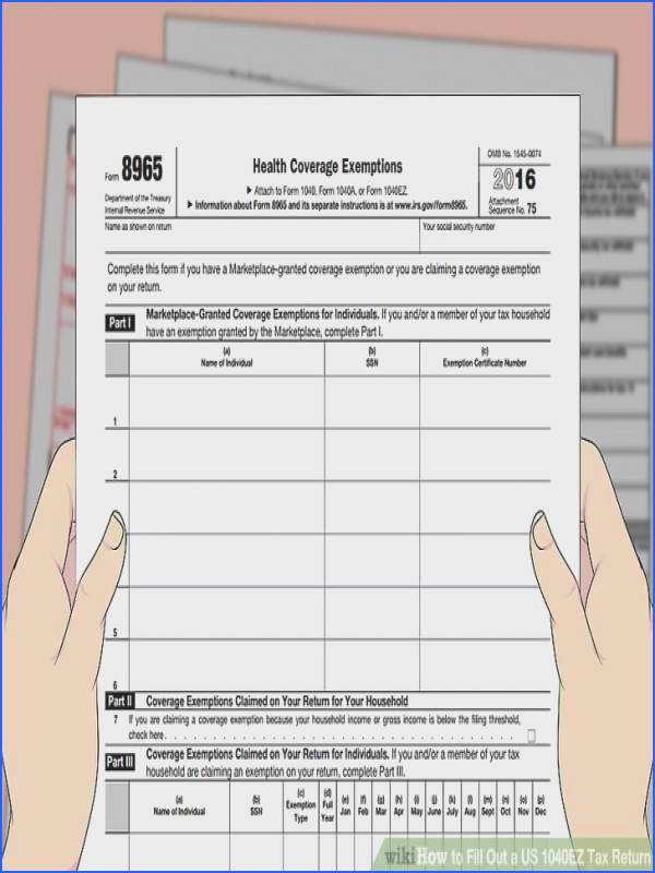 Image titled Fill Out a US 1040EZ Tax Return Step 26