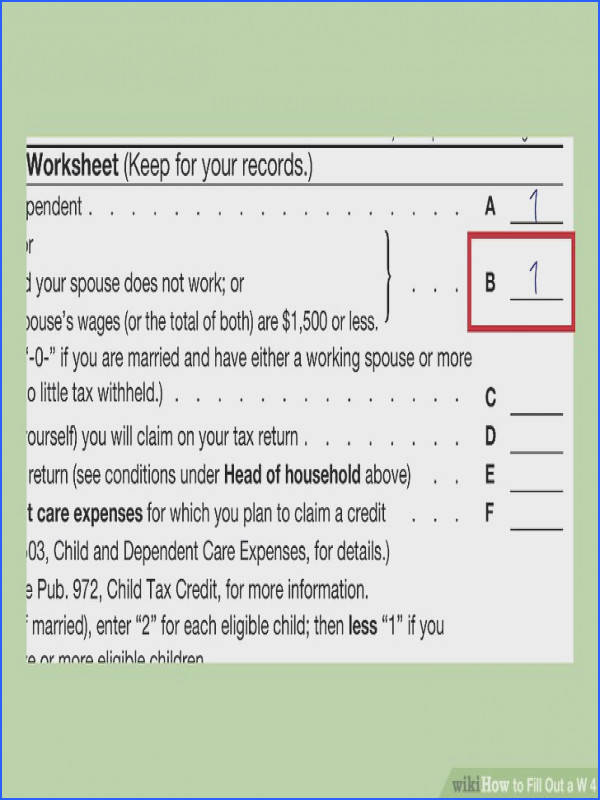 Image titled Fill Out a W 4 Step 3