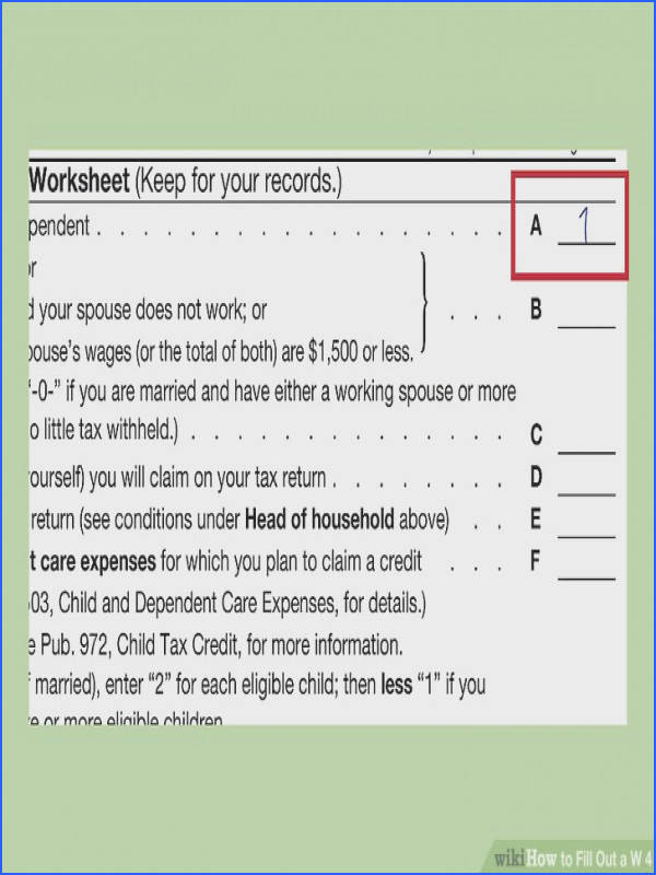 Image titled Fill Out a W 4 Step 2