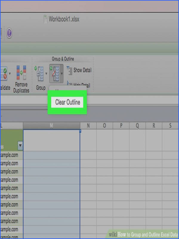 Image titled Group and Outline Excel Data Step 6