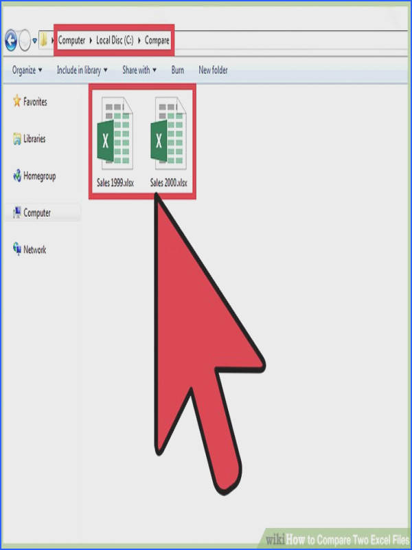 Image titled pare Two Excel Files Step 1