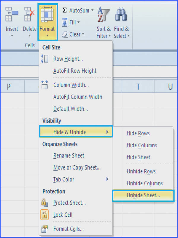 How to Unhide All Worksheets & Sheets In Excel Image Below How to Unhide Worksheets In Excel
