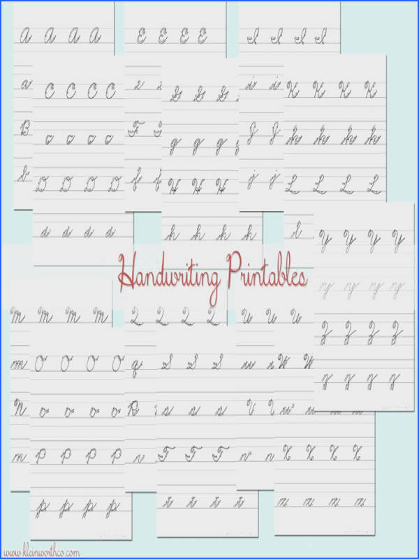 I hate that schools aren t teaching cursive anymore Work with your kids at home with these Cursive Handwriting Practice Sheets