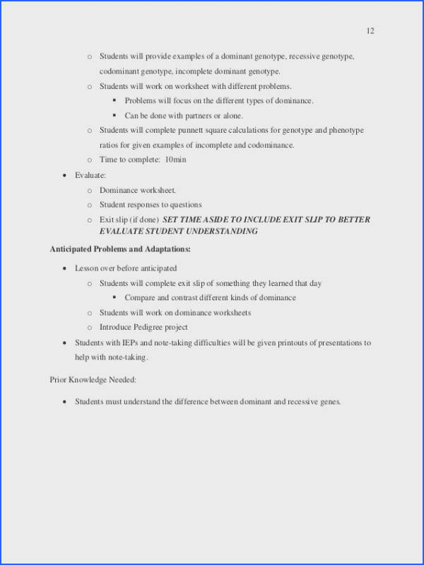 Worksheets for all Download and Worksheets in plete dominance and codominance worksheet