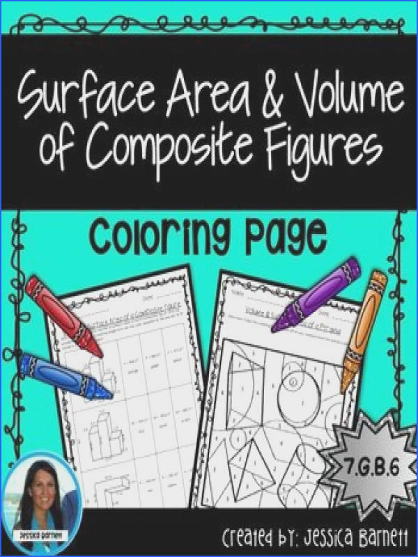 In this highly engaging coloring activity students will determine the volume or surface area of posite figures to correctly color the page WHAT S