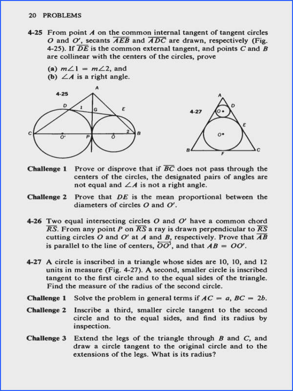 Inscribed Angles Worksheet Answers Best Challenging Problems In Geometry Stock Inscribed Angles Worksheet Answers