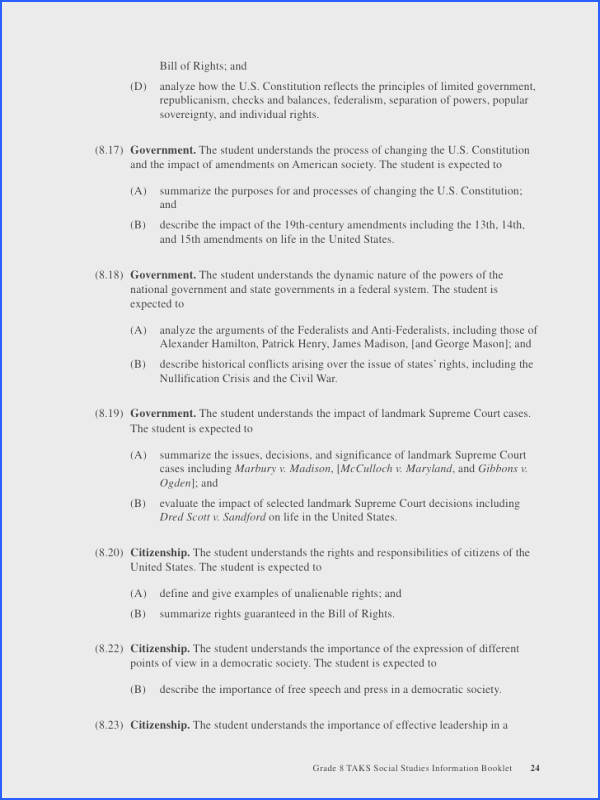 Interpreting The Bill Rights Worksheet Worksheets For All