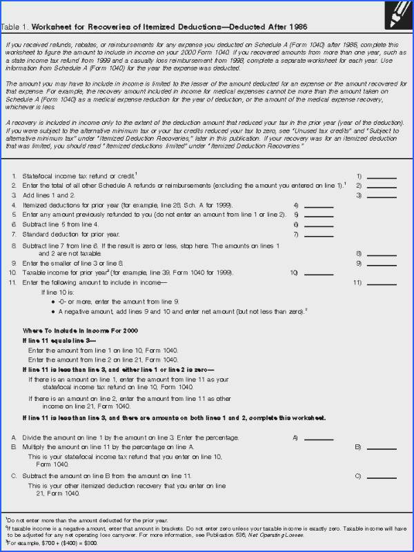 Small Business Tax Deductions Worksheet Templates and Worksheets Irs Itemized Deduction Worksheet Free