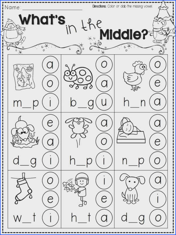 Learning To Read Kindergarten Worksheets Worksheets for all Download and Worksheets