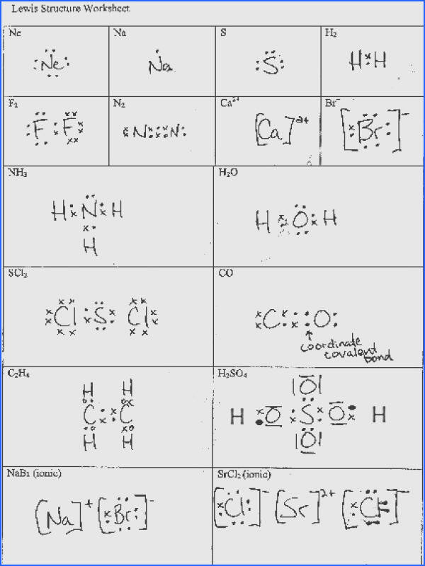 Electron dot diagrams and lewis structures worksheet answers Electron Dot Diagrams And Lewis Structures Worksheet Answers
