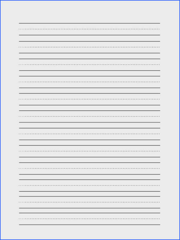 Lined paper for letter writing Original content lined paper template kids