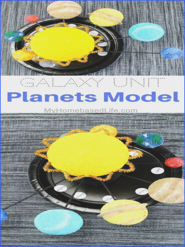Love this STEAM planets project for Exploring Creation with Astronomy