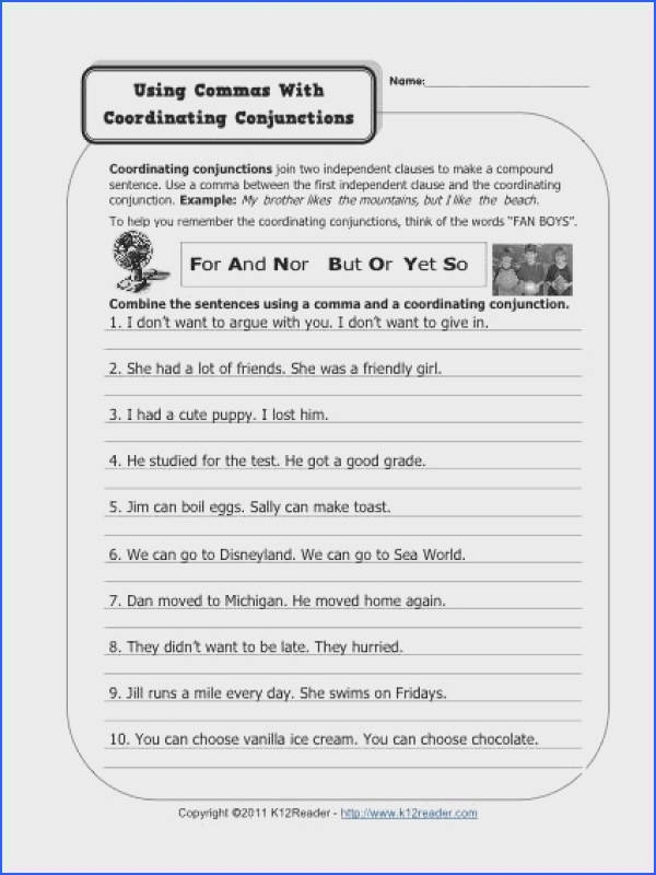 mas and Coordinating Conjunctions