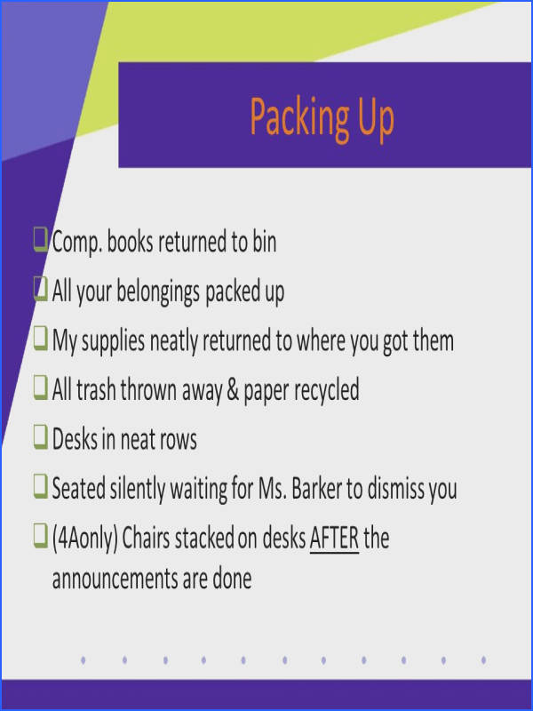 12 Packing