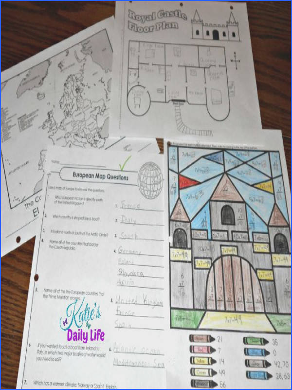 Plenty of history and geography supplements at Super Teacher Worksheets