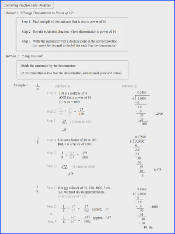 Math Conversion Worksheets Plane Converting Fractions To Decimals Percentages 4th Grade Convert Worksheet Pdf 6th 5th